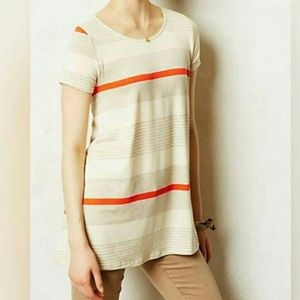 Puella Gray and Red Striped t-Shirt